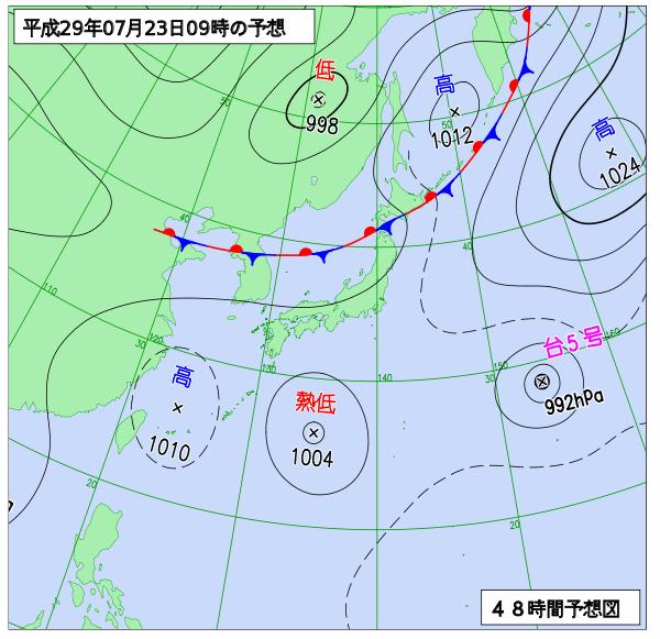 梅雨 予想 2019 明け