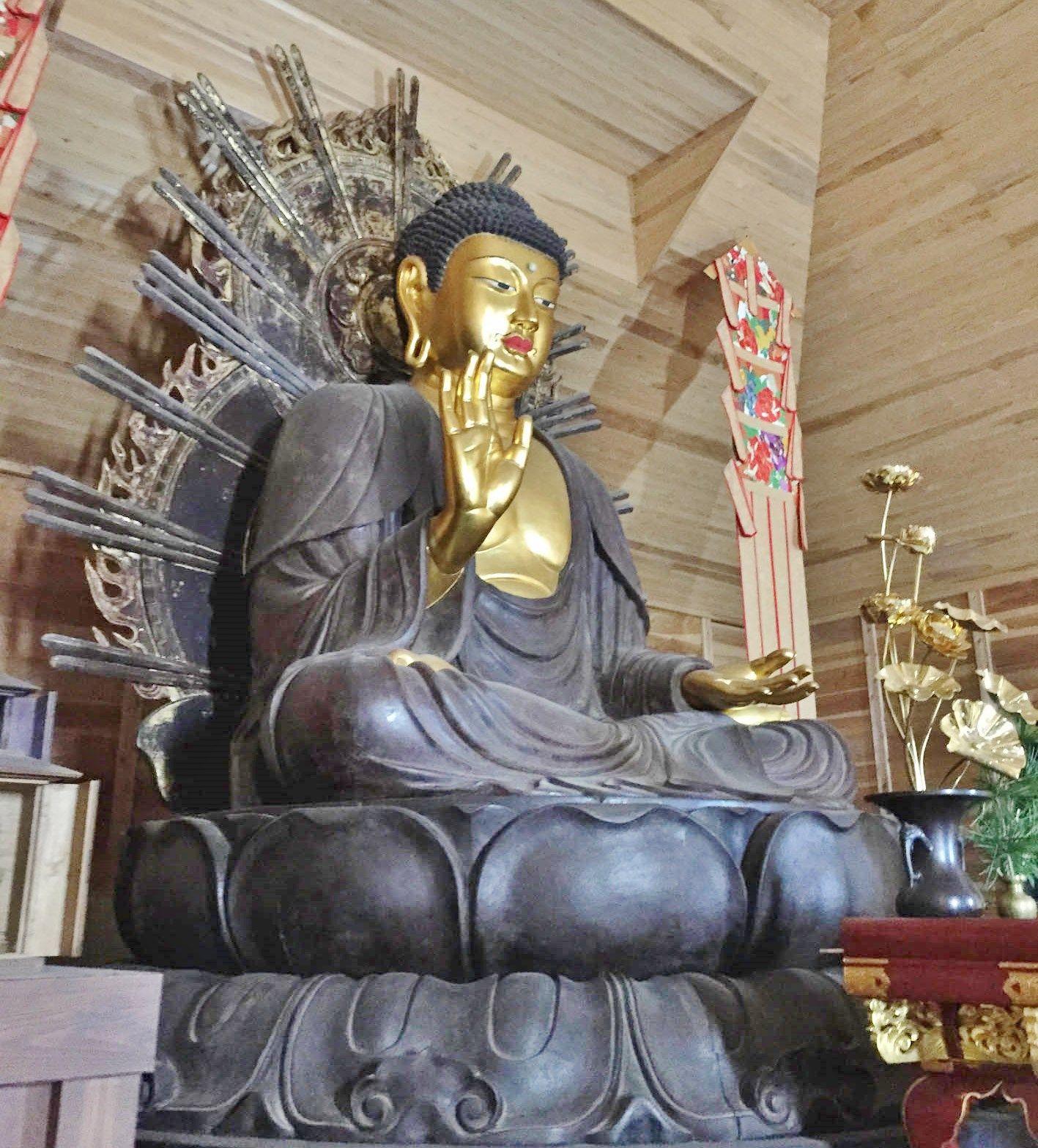 頭部が快慶作の大仏がある『新大仏寺』:達人に訊け!:中日新聞Web