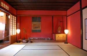 文政3(1820)年に建てられたままのお茶屋。学術的にも貴重な文化遺産として高く評価されている。