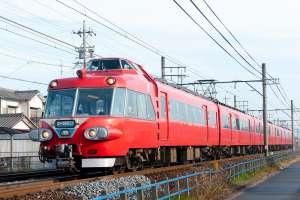 2008(平成20)年まで定期列車として運行されていた名鉄パノラマカー